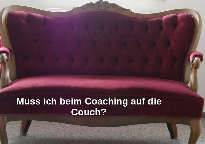 Couch symbolisiert das Klischee der Psychoanalyse